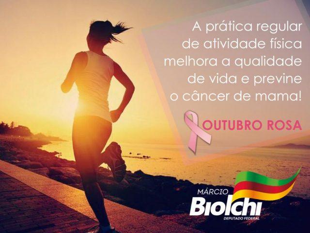 Outubro Rosa: exercícios regulares aumentam chances de cura do câncer de mama