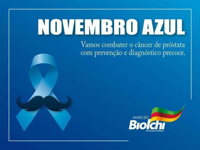 Novembro Azul: Uma morte a cada 38 minutos por câncer de próstata
